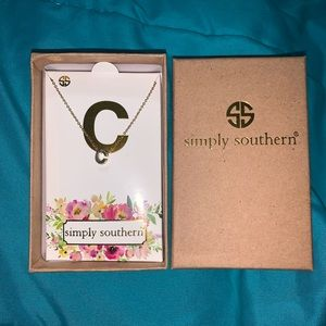 """Simply Southern """"C"""" Necklace"""
